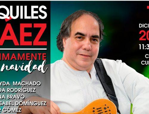 Aquiles Báez celebrará íntimamente en navidad