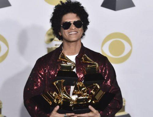 Bruno Mars fue el máximo ganador de los Premios Grammy 2018