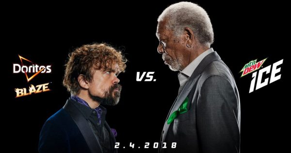 Morgan Freeman and Peter Dinklage Bring One Minute of Epic Entertainment in New Ad (PRNewsfoto/PepsiCo North America)