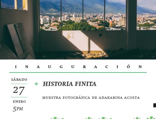 Exposición fotográfica Historias Finitas de Adakarina Acosta en Lugar Común