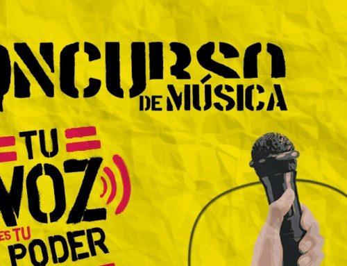 """3era edición del concurso """"Tu Voz es tu Poder"""" será hasta el 28 de febrero"""