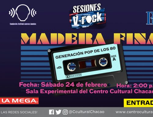 La música de los 80 será interpretada en las Sesiones V-Rock: Madera Fina