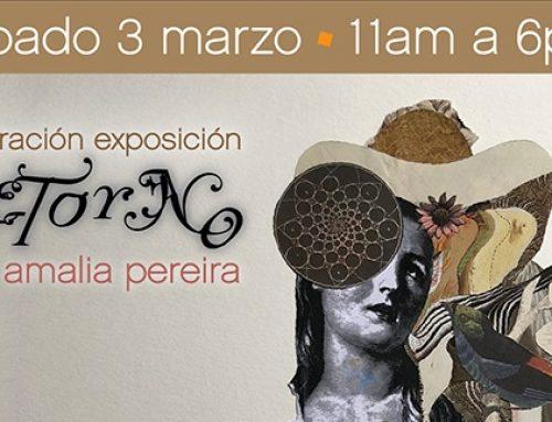 La seducción del collage en la obra de Amalia Pereira se excibirá en Sietealcubo