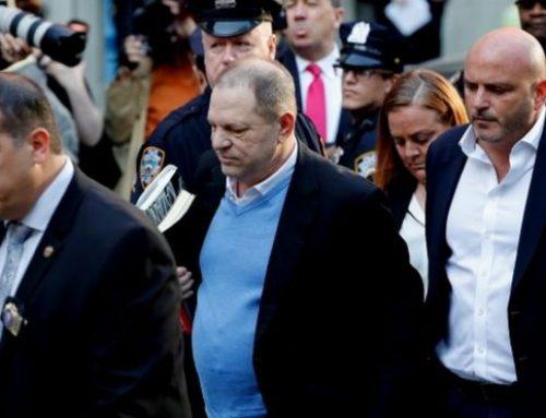 Harvey Weinstein se entrego a las autoridades