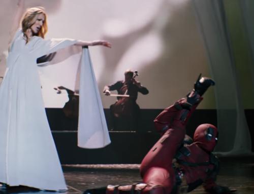Celine Dion canta emocionada el tema principal de Deadpool 2