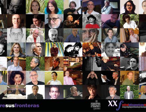 El Festival Latinoamericano de Música celebrara veintiocho años de vida ininterrumpida