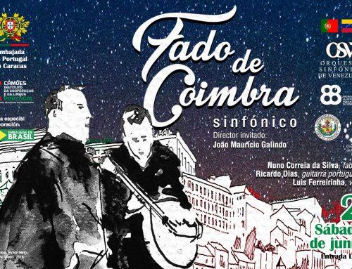 """Portugal celebra su día presentando el concierto """"Fado de Coimbra Sinfónico"""""""
