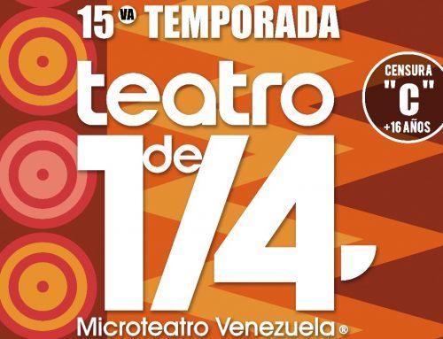 15ta. Temporada de Microteatro Venezuela abre sus puertas en Espacios Urban Cuplé