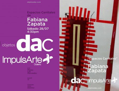 """María Fabiana Zapata exhibe """"Espacios Cenitales"""" en Objetos DAC"""