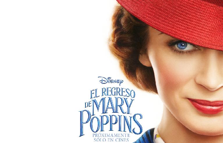 Mary Poppins vuelve con los niños Banks en el nuevo trailer