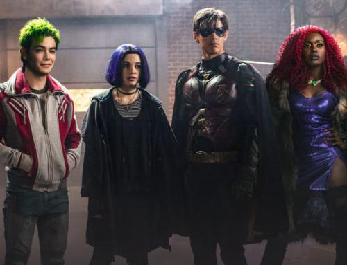 Así será el nuevo traje de Starfire y Raven en #Titans