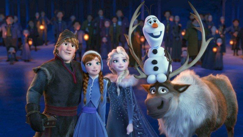 """Elsa utiliza sus poderes en el adelanto de """"Frozen 2"""""""