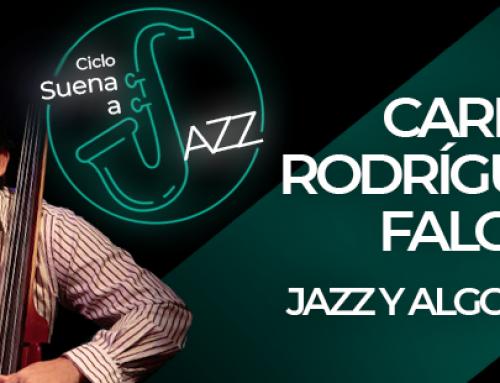 """Carlos Rodríguez estará en el """"Suena a Jazz"""" en el Centro Cultural BOD"""