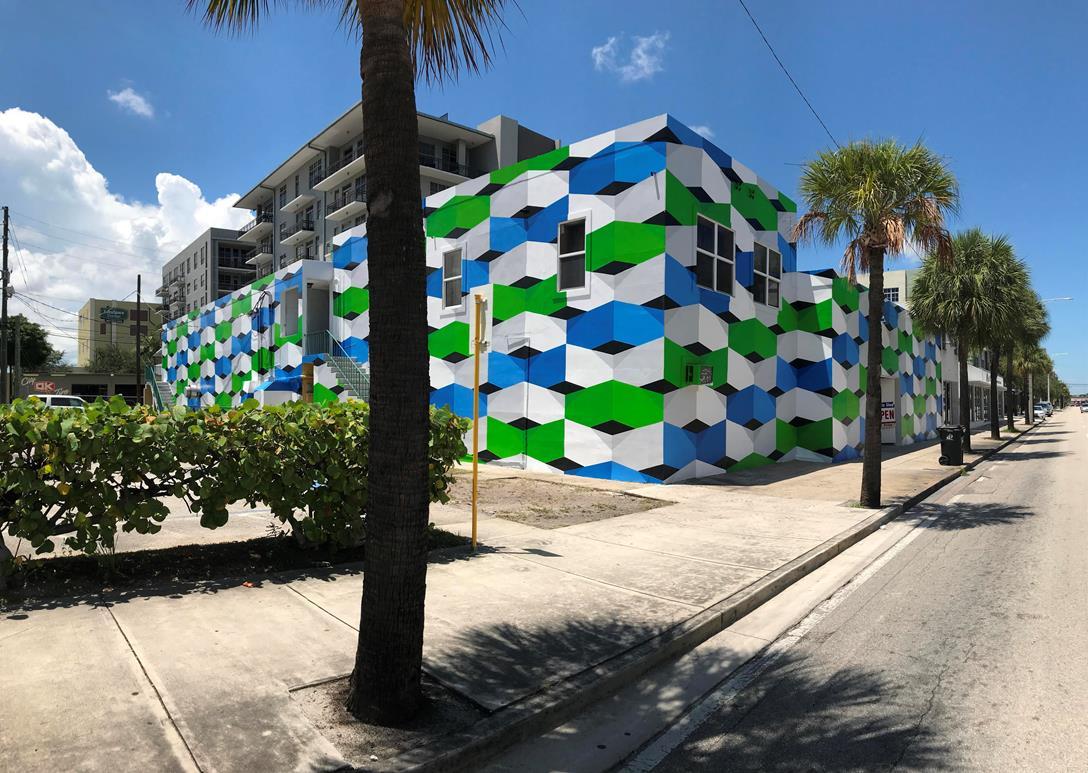 La obra del venezolano Alberto José Sánchez presente en murales y feria de arte Pinta Miami