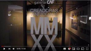 Creadoras venezolanas MMXX es la nueva exposición virtual de la galería CAF