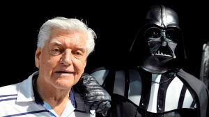 Murió el actor David Prowse, el encargado de interpretar a Darth Vader en la películas originales de Star Wars