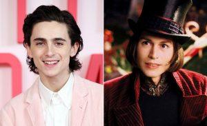 Así luce Timothée Chalamet como Willy Wonka